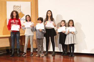 Premiados del concurso '¿Cómo es para ti un científico o científica?'