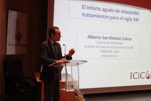 José Alberto San Román Calvar, cardiólogo y director de Instituto de Ciencias del Corazón (ICICOR).