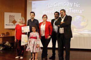 Foto de familia de la entrega de premios 'Heredarás la Tierra'