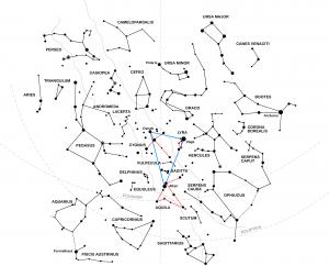 Triángulo de verano / wikipedia