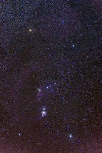 Constelación de Orión. / Wikipedia