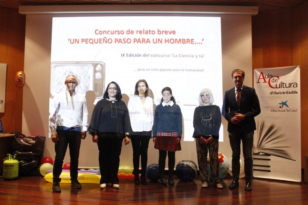Foto de los premiados y organizadores