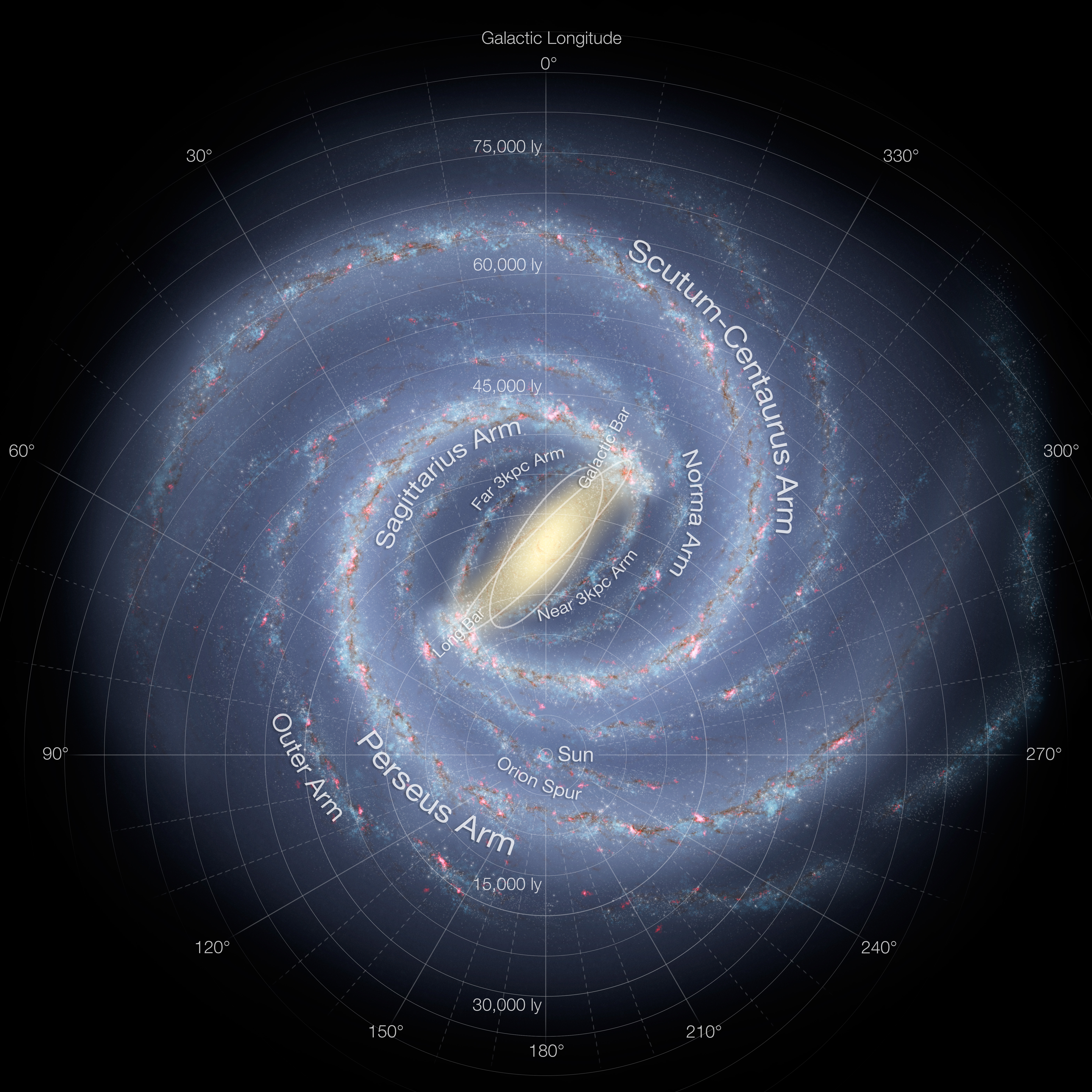 Vía Láctea/ Fuente: Wikipedia
