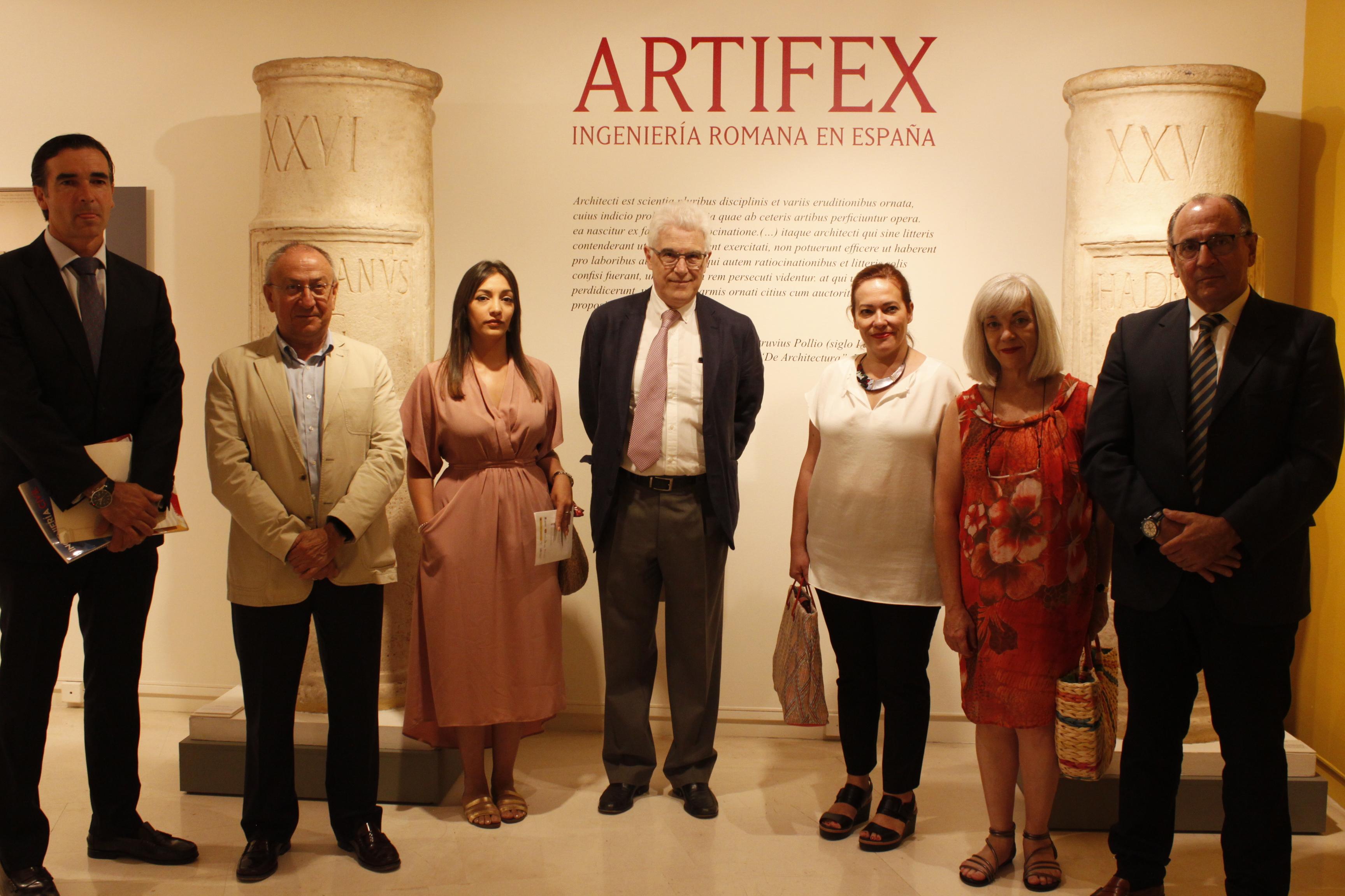 Inauguración de la exposición 'Artifex. Ingeniería romana en España'