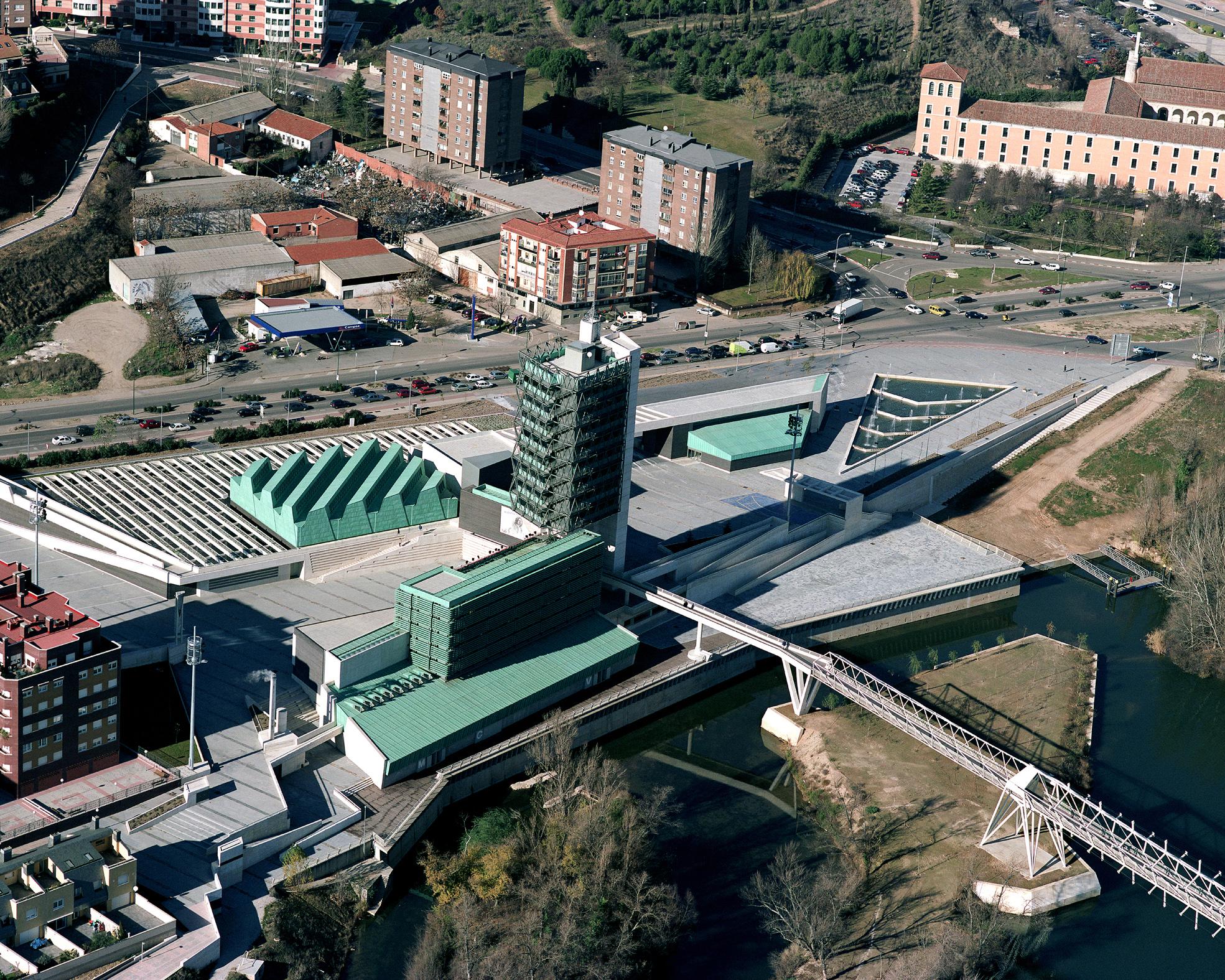 Foto aérea del Museo de la Ciencia