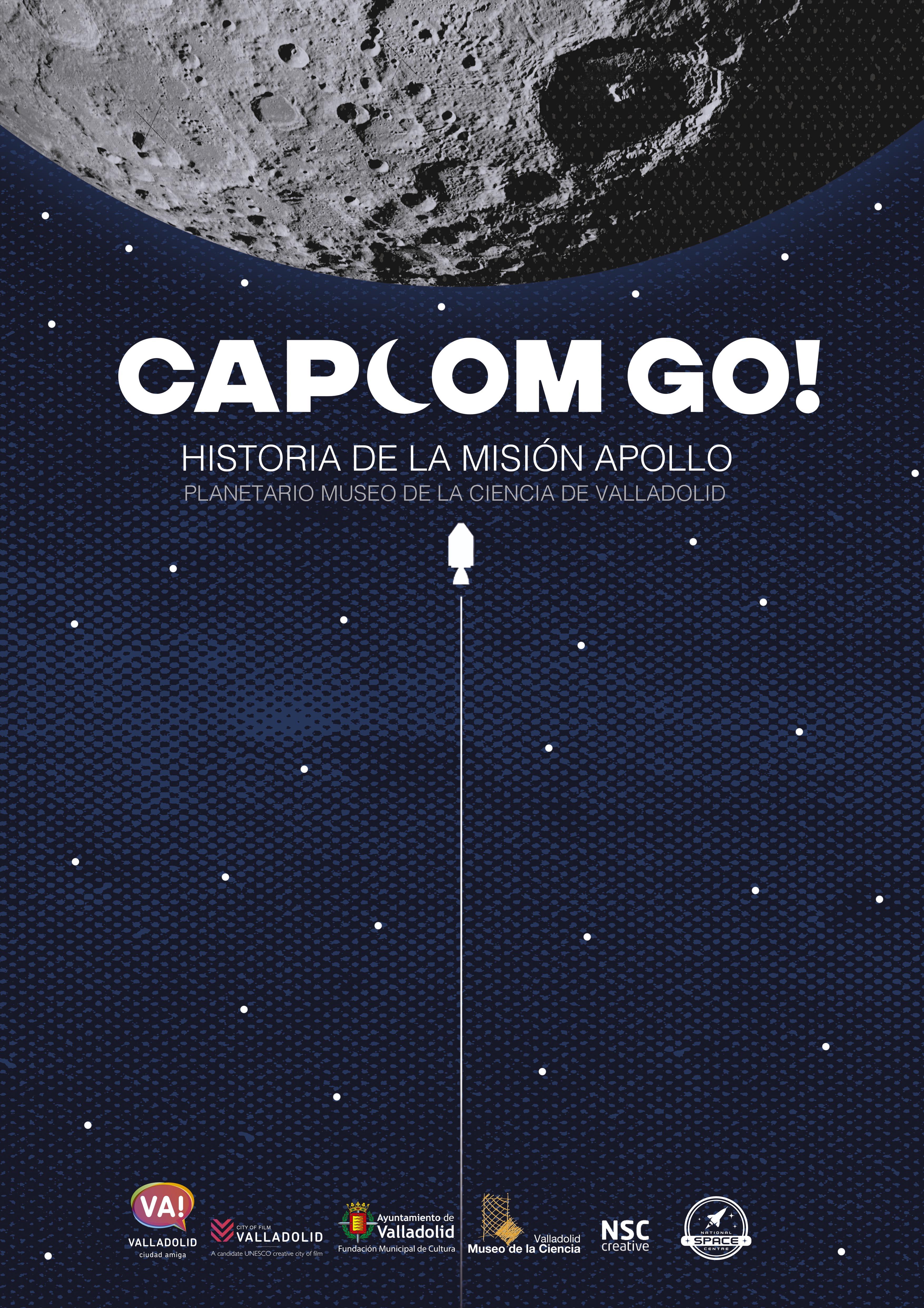 Cartle del programa de Planetario 'CAPCOM go!'