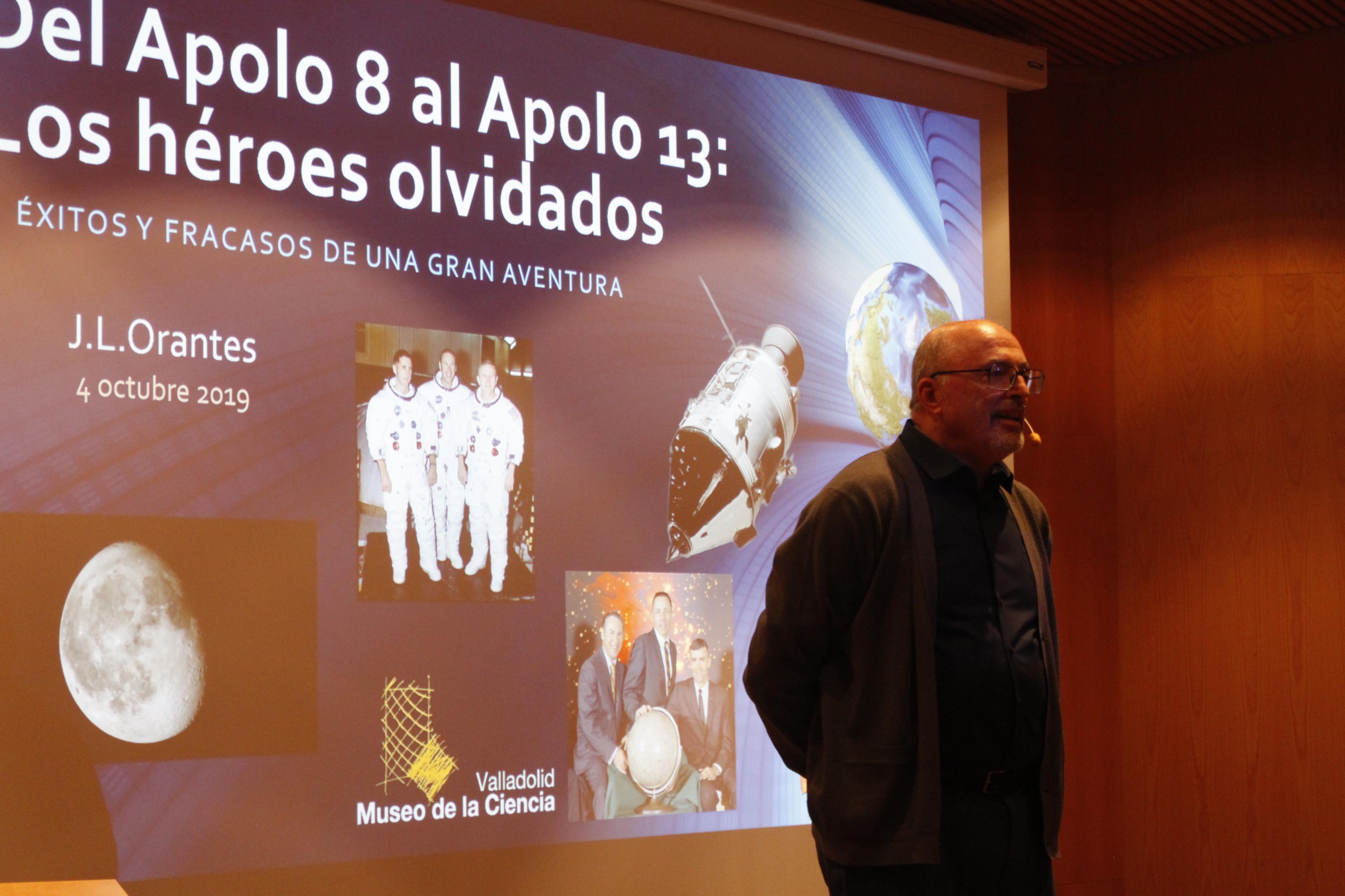 Charla de José Luis Otrantes en el Auditorio del Museo