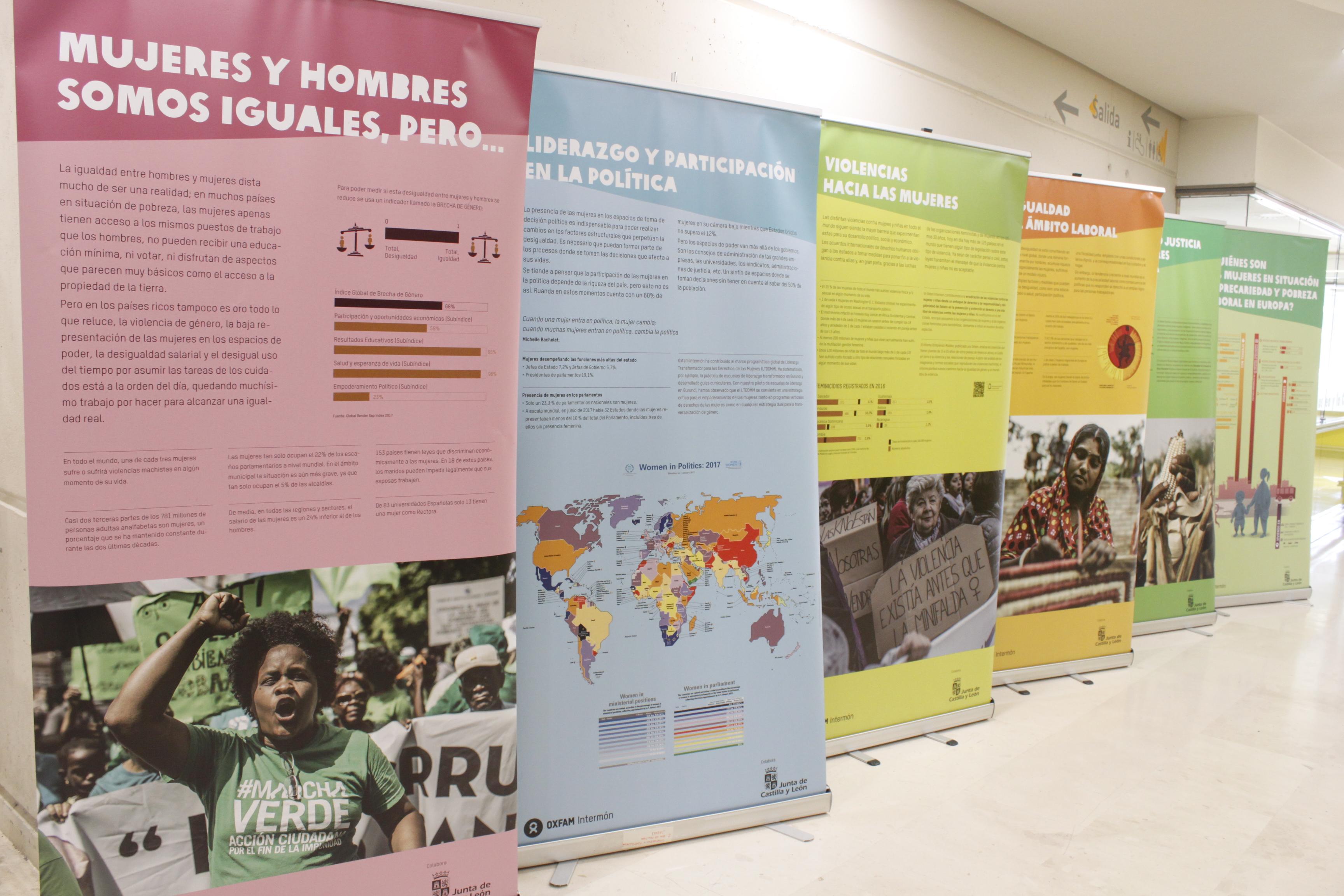 Exposición 'Mujeres y desigualdad'
