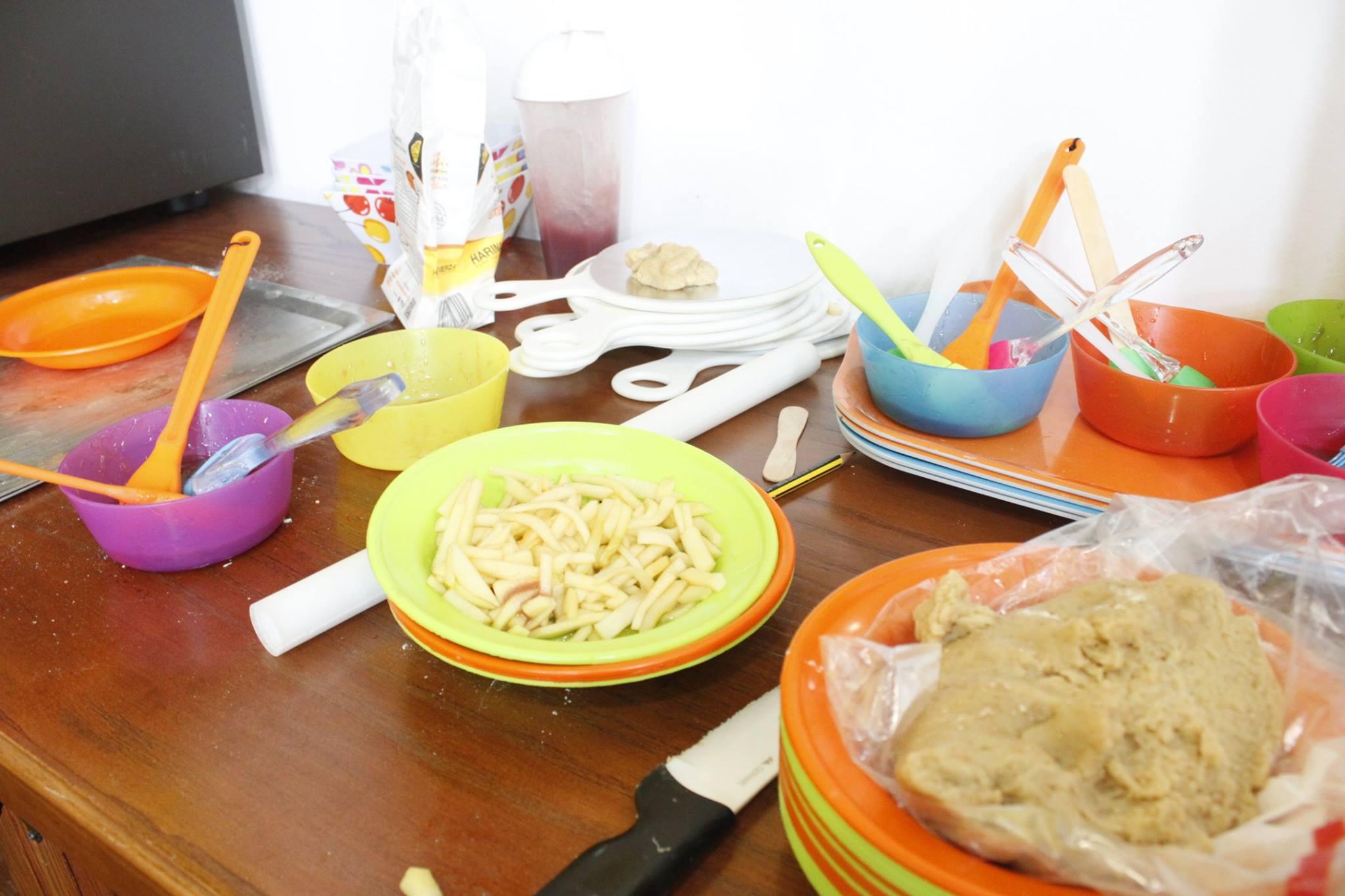 Talleres de cocina para bebés