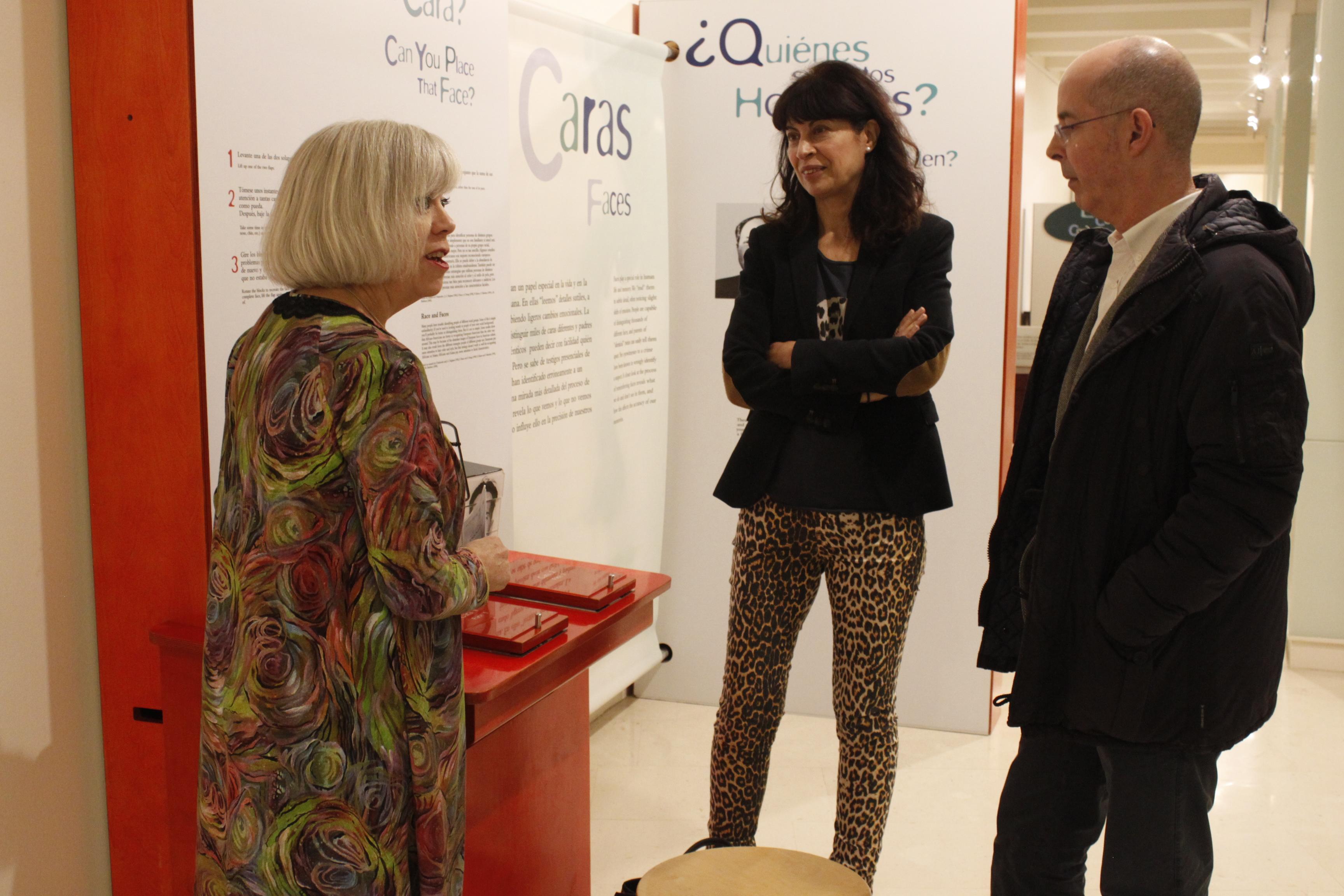 Inauguración de la exposición Memoria