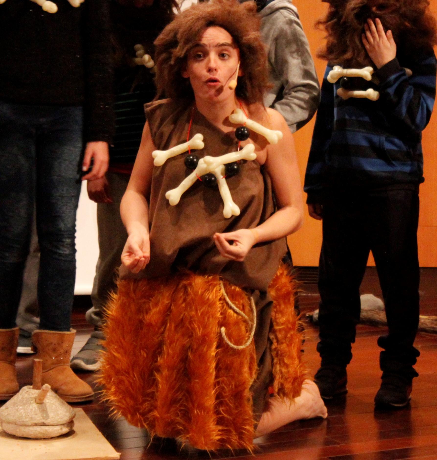 Teatro 'Un día en la vida de Elba'.