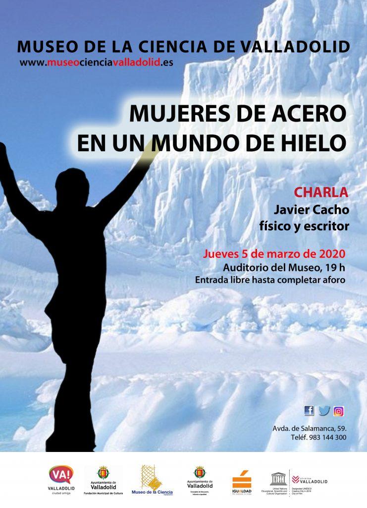 cartel charla javier cacho
