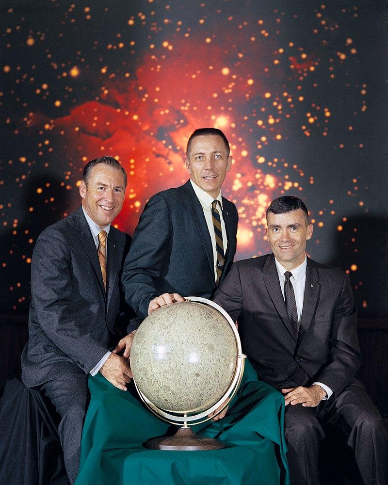 Foto tripulación Apollo 13 / Wikipedia