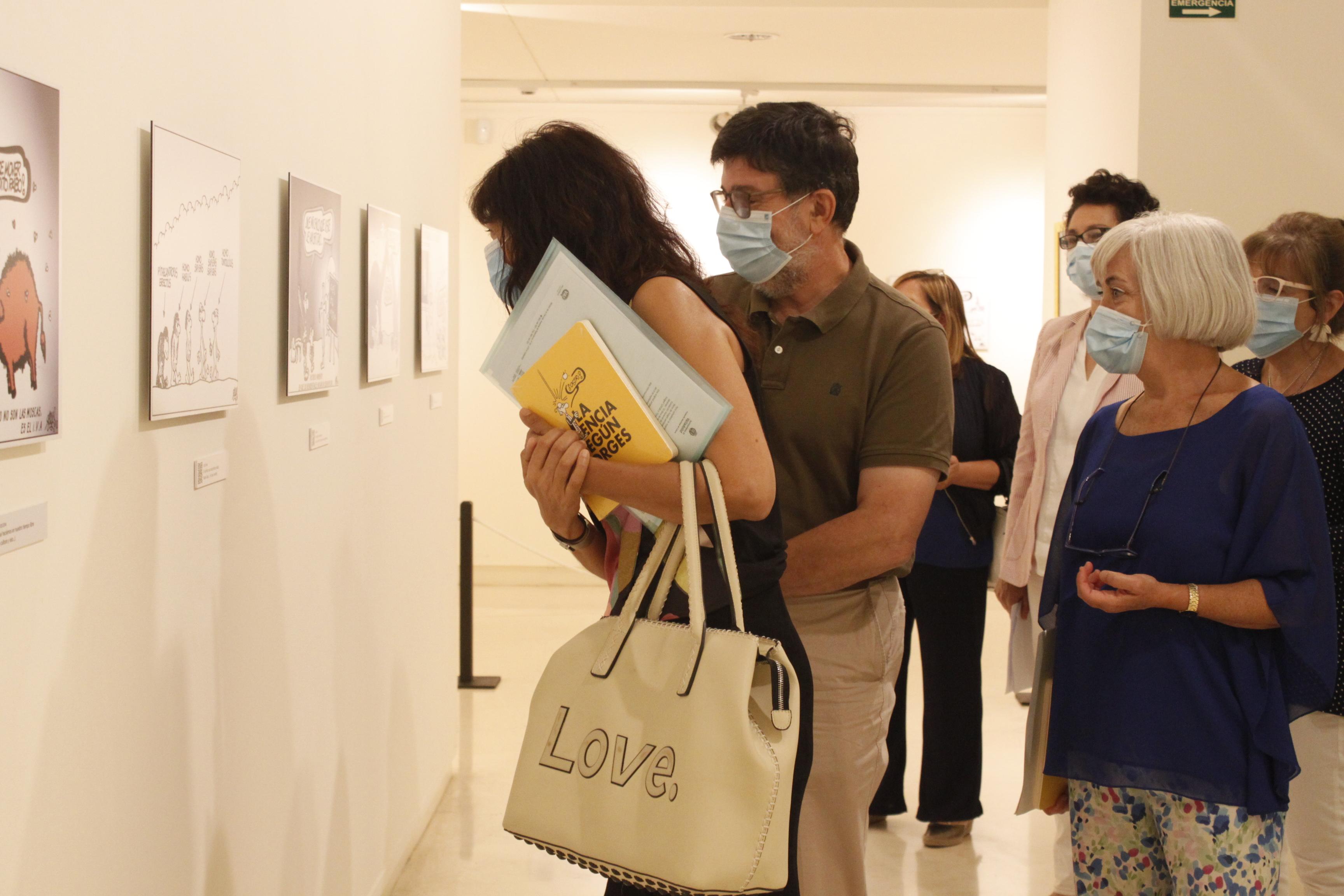 Imauguración de la exposición