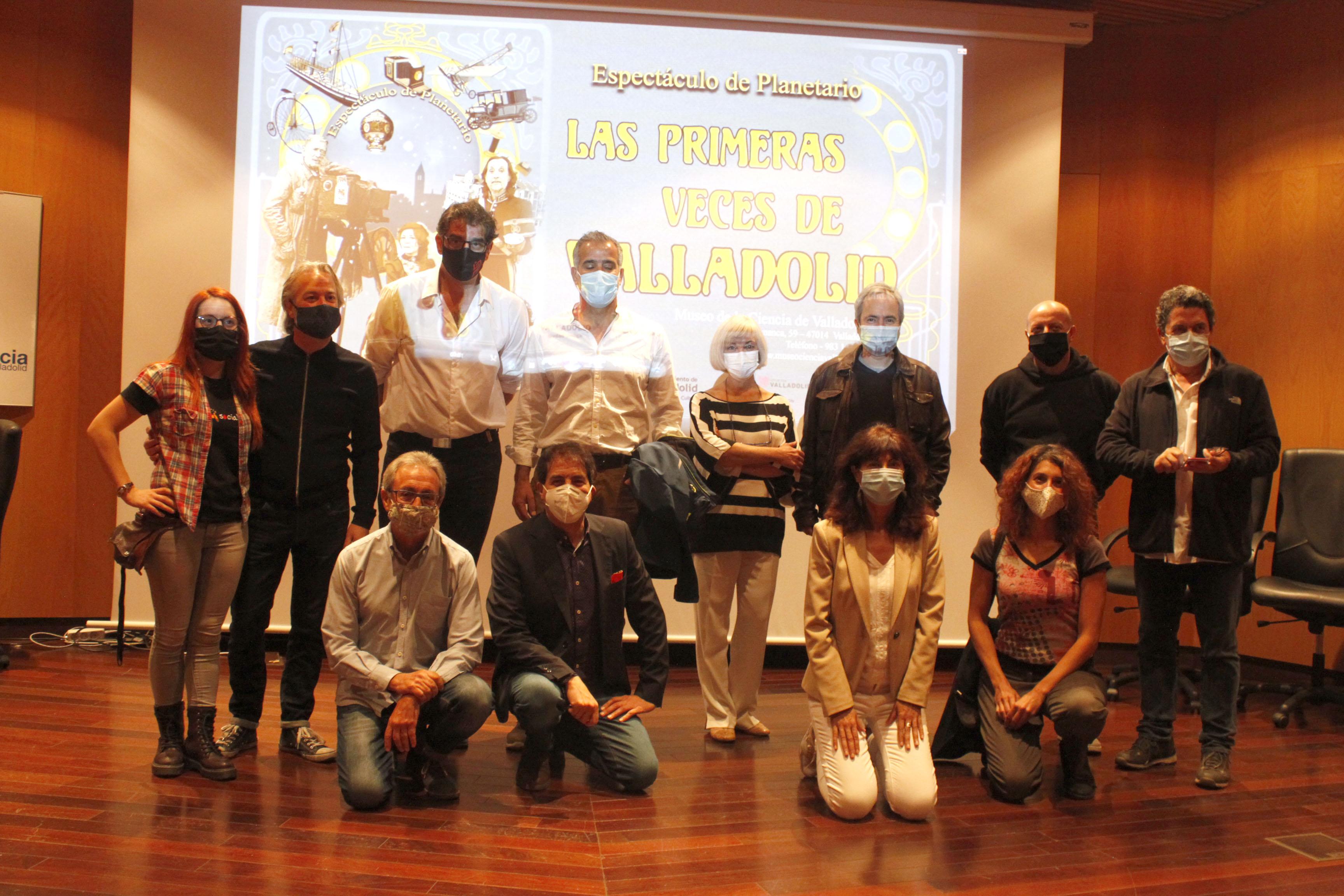 Foto de equipo de trabajo del programa 'Las primeras veces de Valladolid'