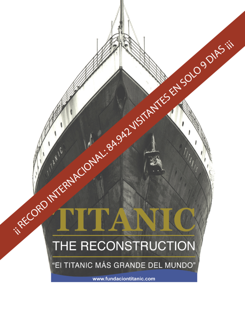 Cartel Titanic The Reconstruction
