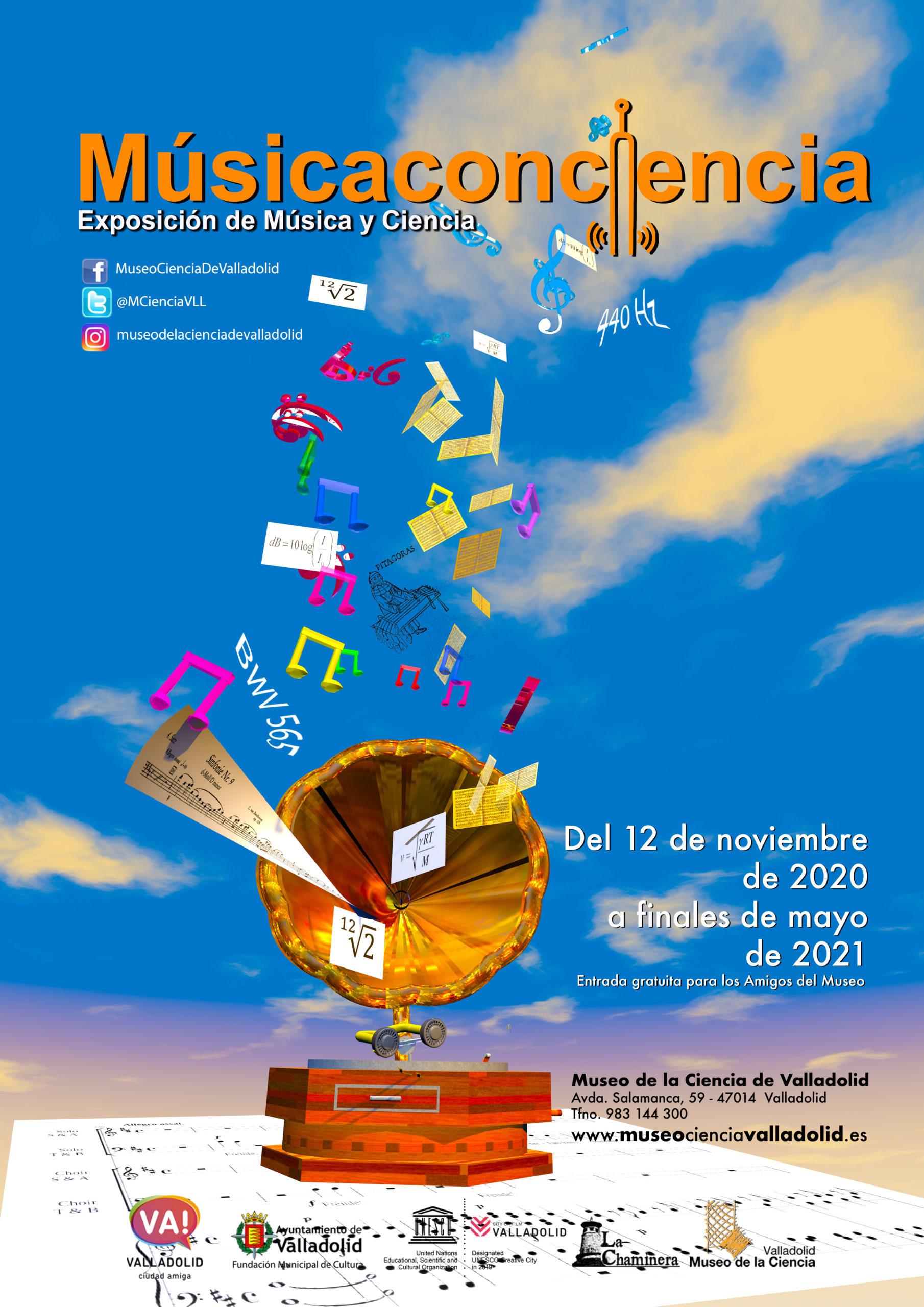 cartel 'Músicaconciencia'