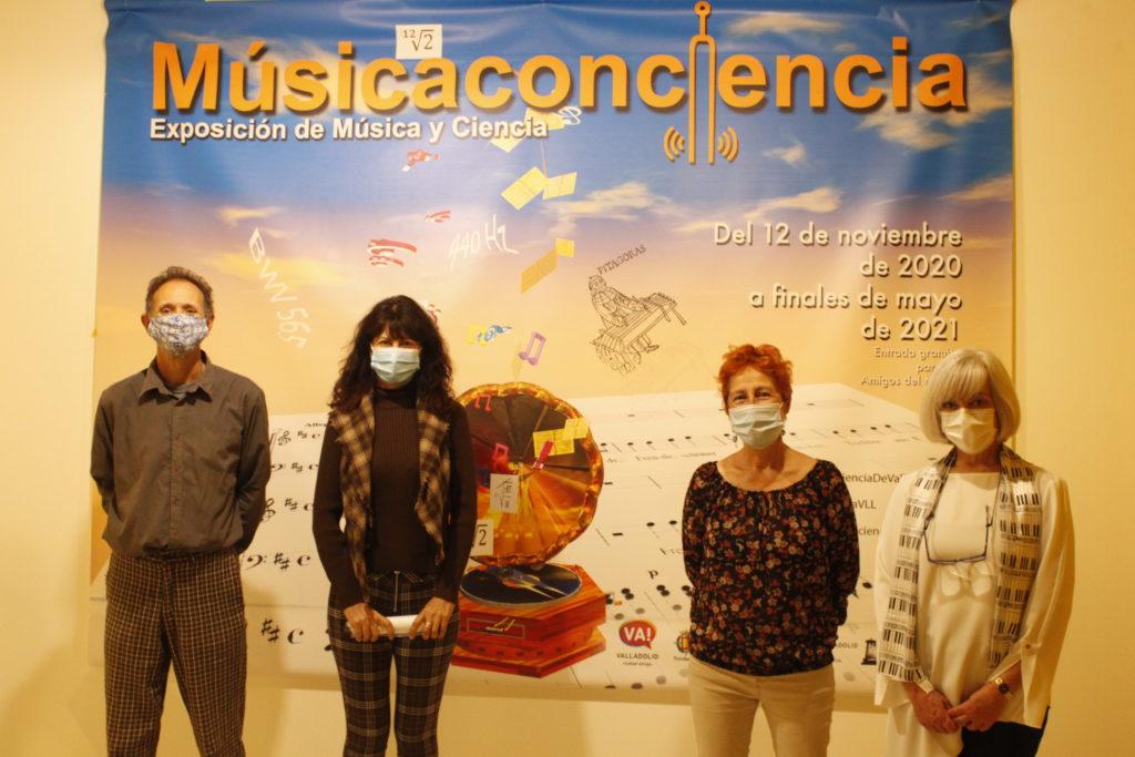Inauguración de la exposición 'Músicaconciencia'
