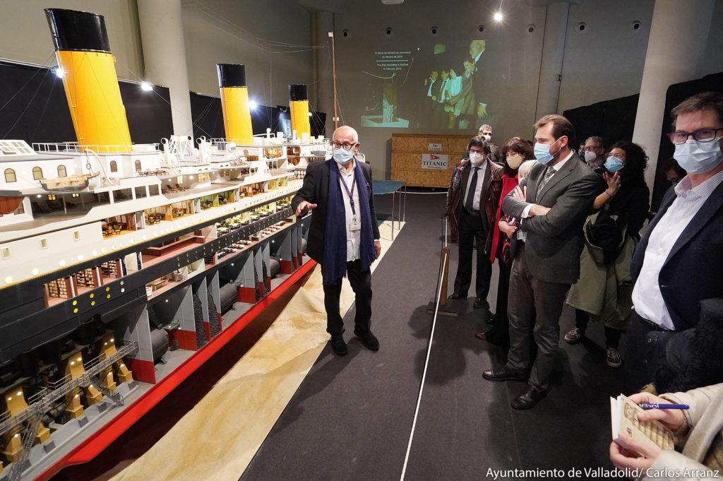 Inauguración exposición Titanic