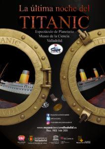 Cartel 'La noche del Titanic'