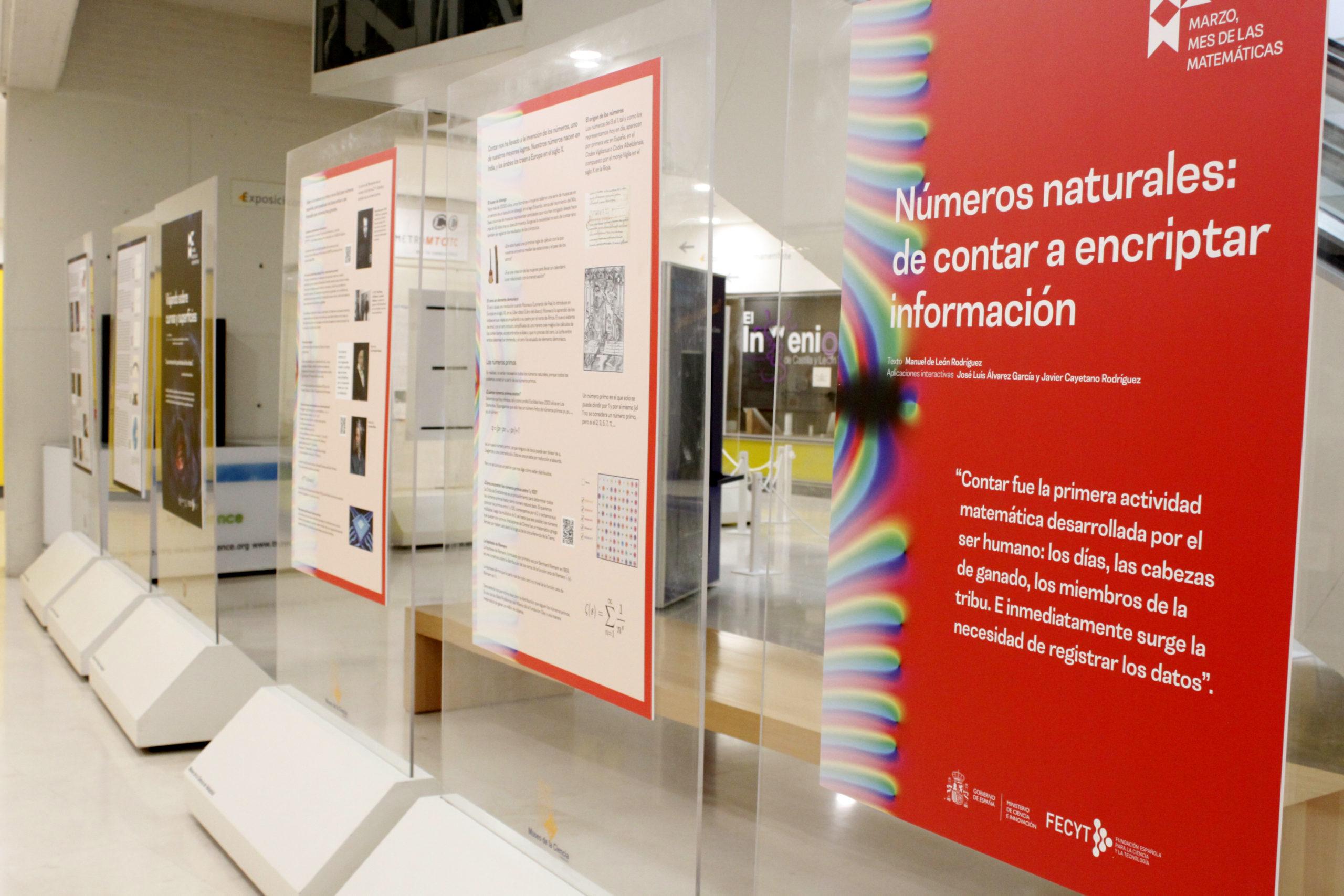 Exposición 'Matemáticas para un mundo mejor'