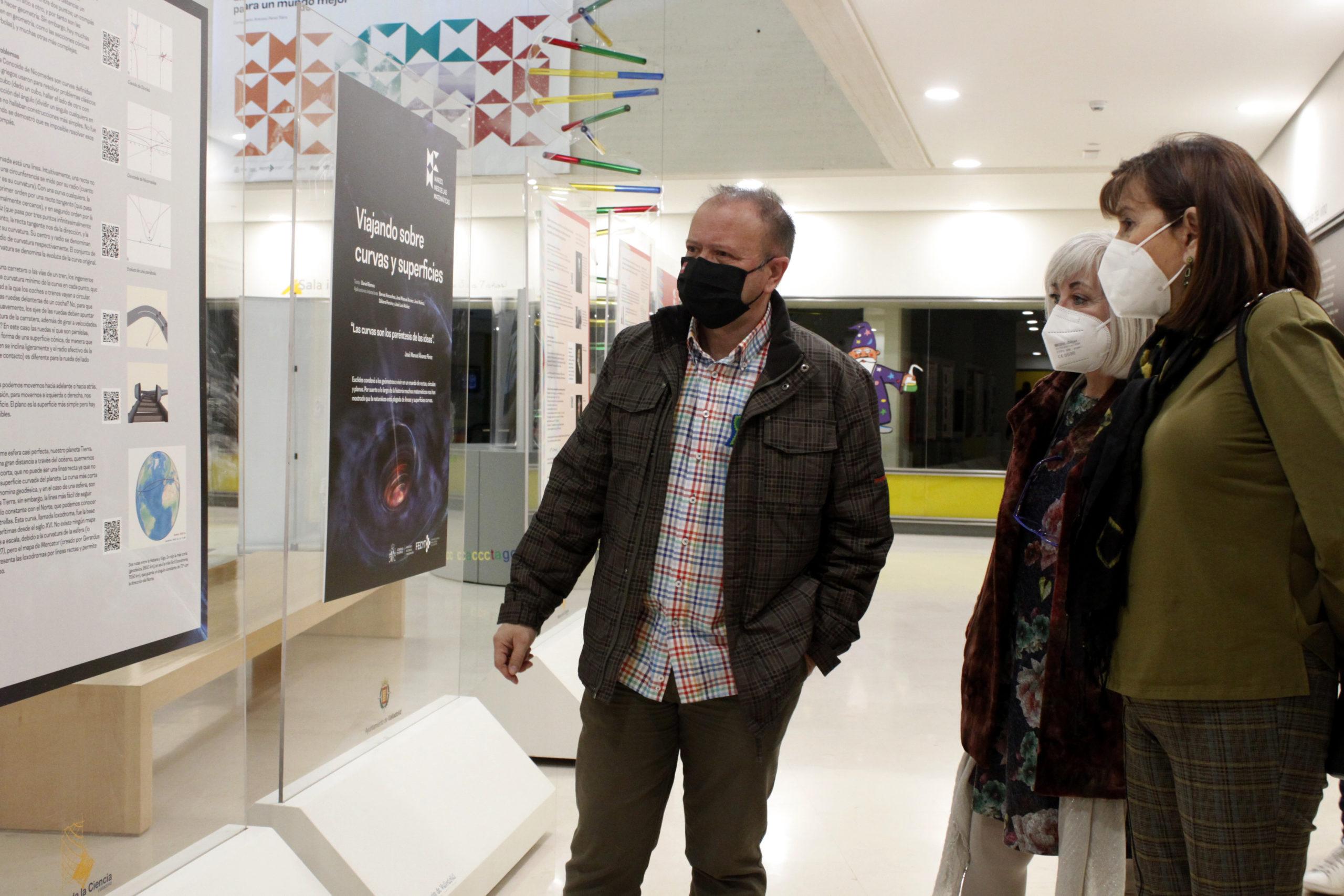 Inauguración exposición 'Matemáticas para un mundo mejor'