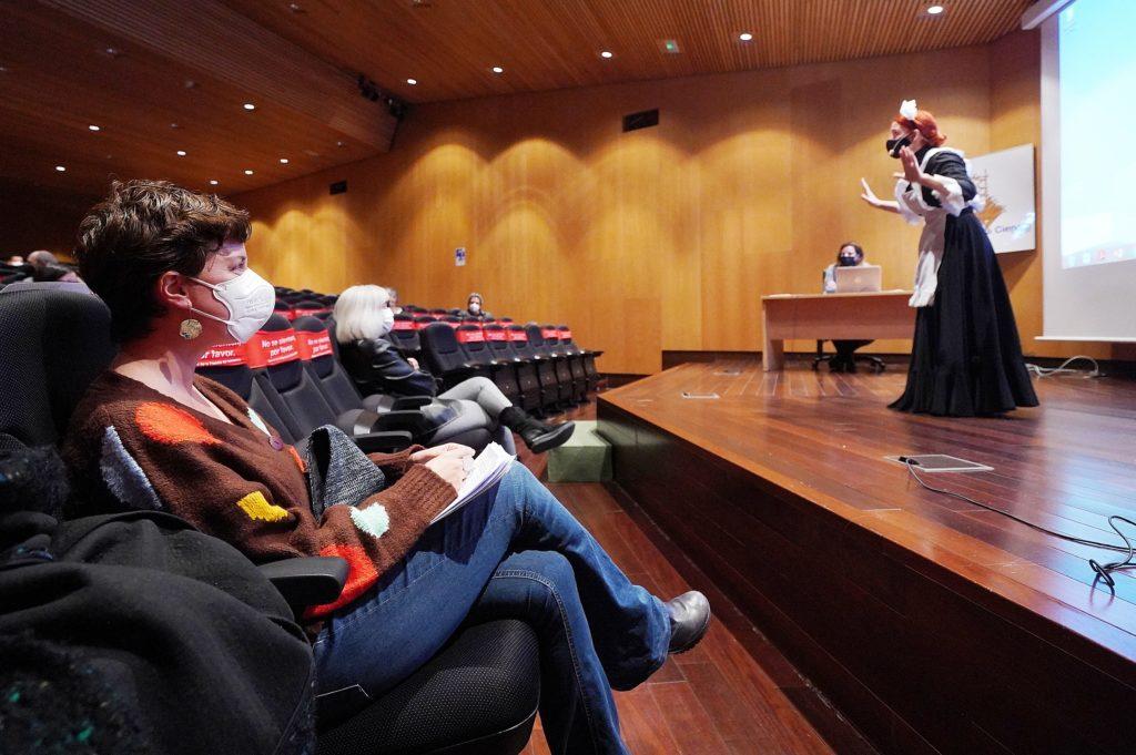 Presentación scape room virtual / Ayuntamiento de Valladolid