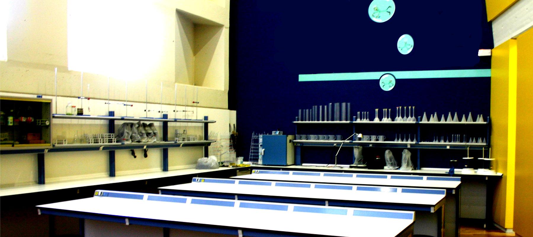 baner laboratorio